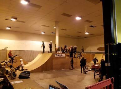 Tasr Indoor Skatepark Image