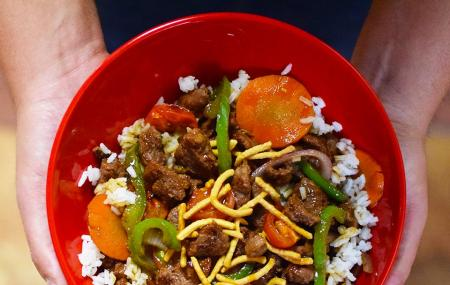 Genghis Grill Build Your Own Stir Fry Tampa Reviews Ticket