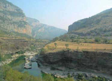 Moraca River Canyon Image