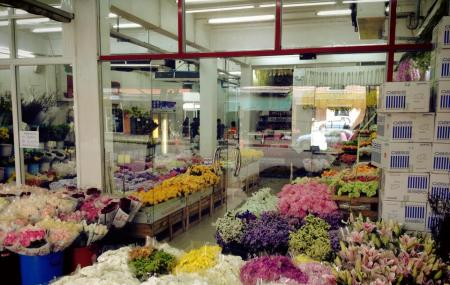 Pak Khlong Market (flower Market) Image