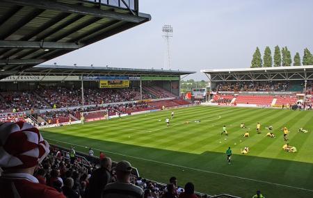 Glyndwr University Racecourse Stadium Image