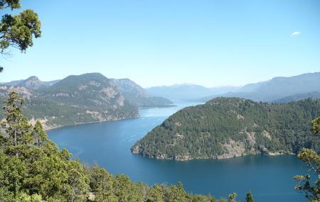 Lacar Lake Image