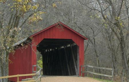 Sandy Creek Covered Bridge State Historic Site Image