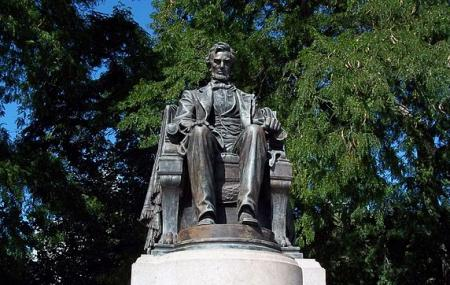 Seated Lincoln Image