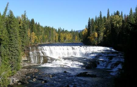 Dawson Falls Clearwater Valley Rd Bc Canada Image