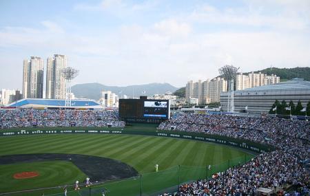 Sajik Baseball Stadium Image
