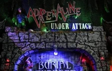 Burial Chamber Haunted House Complex Image