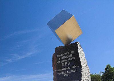 Pomnik Ufo Image