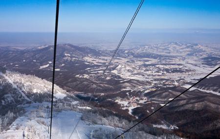 Yabuli Windmill Hill Mountain Villa Ski Field Image