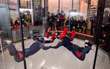 Indoor Skydiving Image
