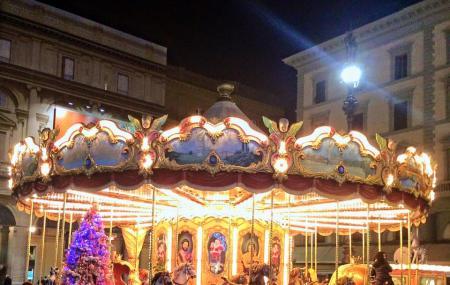 Carousel Antica Giostra Toscana Image