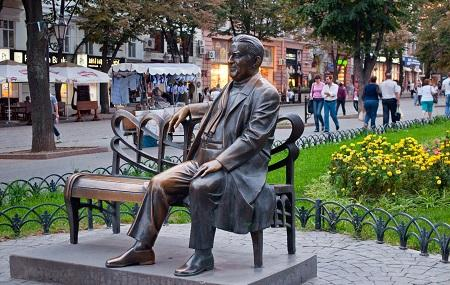 Monument To Leonid Utiosov Image