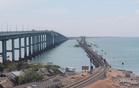 Pamban Beach, Rameswaram Image