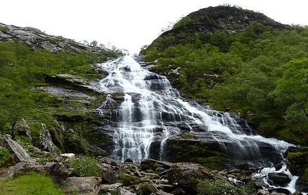Steall Waterfall Image