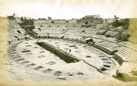 Flavian Amphitheater Image