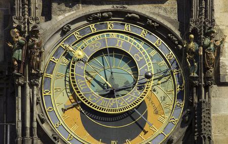 Prague Astronomical Clock Image