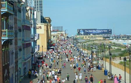 Atlantic City Boardwalk Image