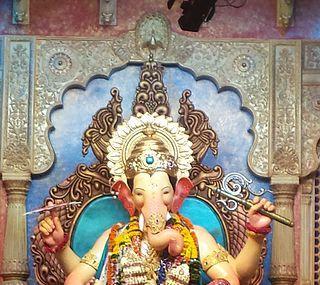 Lalbaugcha Raja Ganpati Image