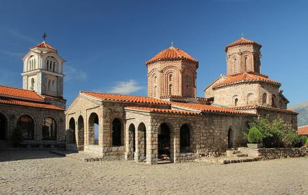 Monument To St. Naum Of Ohrid Image