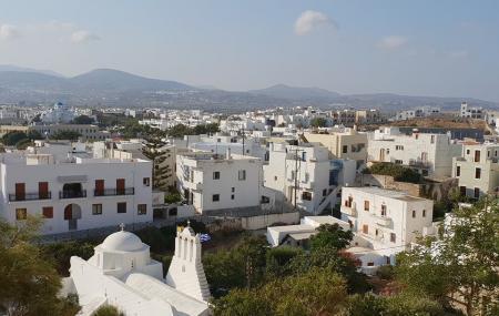Naxos Town Image
