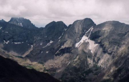 Kit Carson Peak And Challenger Point Image