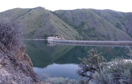 Arrowrock Dam And Reservoir Image