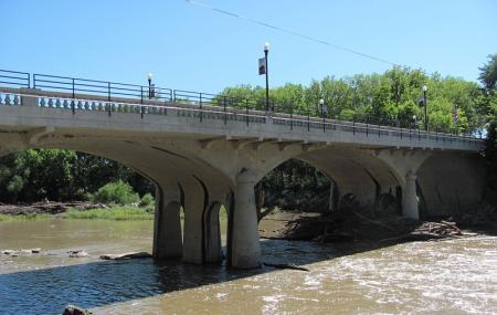 Cottonwood River Bridge Image