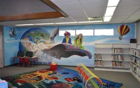 Kettleman City Library Image