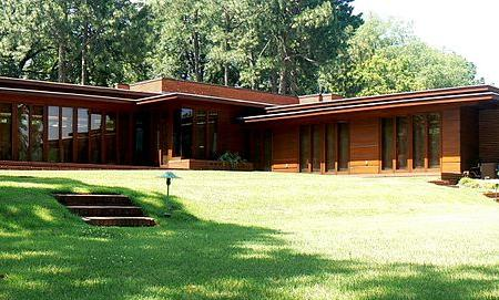 Frank Lloyd Wright's Rosenbaum House Image