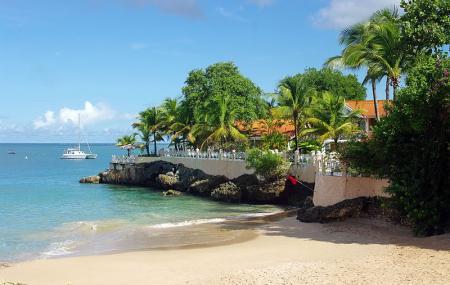 Store Bay Beach Tobago Image