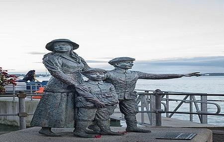 Annie Moore Monument Image