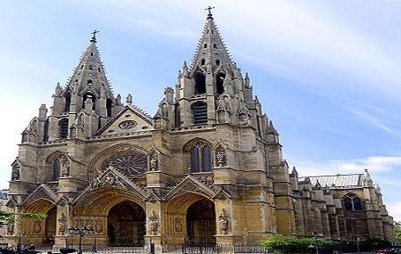 Sainte-clotilde, Paris Image