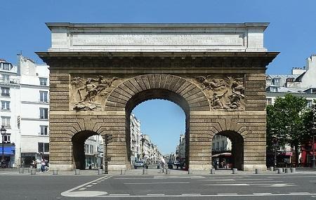 Porte Saint-martin Image