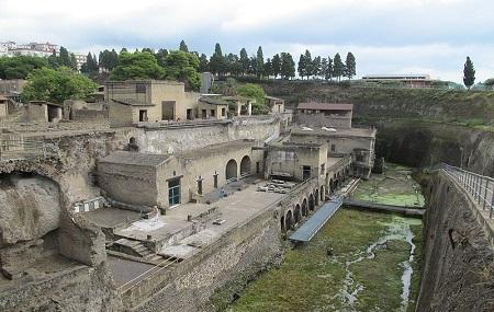 Herculaneum Archaeological Park Image