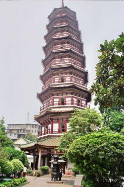 Temple Of The Six Banyan Trees, Guangzhou