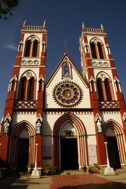 The Sacred Heart Of Jesus Church, Puducherry