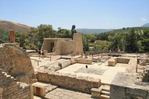 Palace Of Knosos, Crete