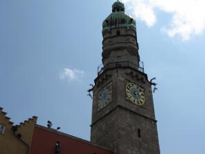 Stadtturm, Town Tower, Innsbruck