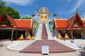 Wat Phra Yai Or The Big Buddha Temple, Ko Samui