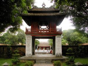 Temple Of Literature And National University, Hanoi