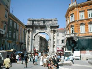 Triumphal Arch Of Sergius, Pula