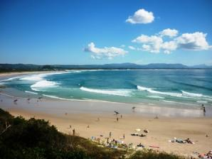 Main Beach, Clarkes Beach And The Pass, Byron Bay