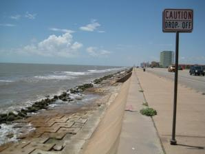 The Seawall Boulevard, Galveston