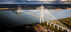 Le Pont De Normandie, Honfleur