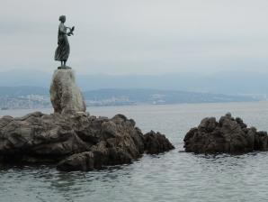 Maiden With A Seagull Or Madonna Del Mare , Opatija