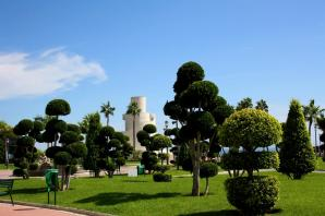 Parque La Bateria Or Battery Park, Torremolinos
