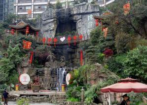 Hongya Cave, Chongqing