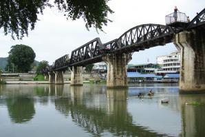 Bridge Over The River Kwai, Kanchanaburi