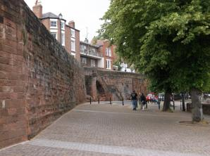 Chester City Walls, Chester
