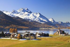 Lake Silvaplana, St Moritz